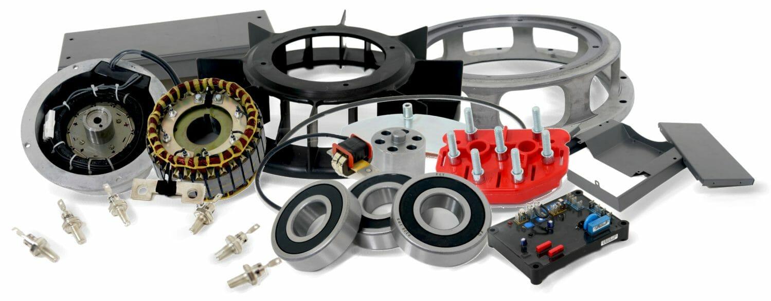 запасные части для силовых генераторов