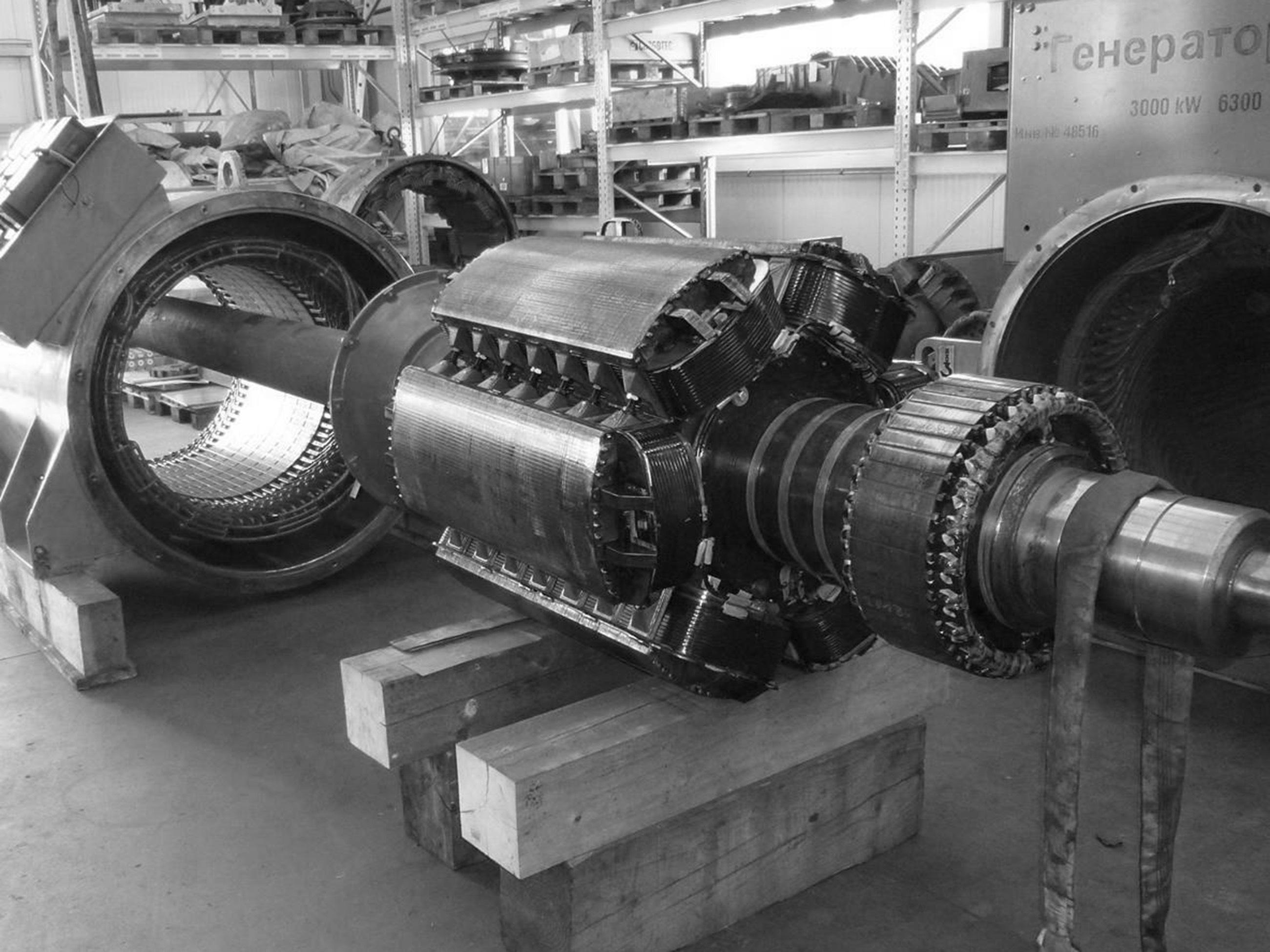 Ремонт генераторных установок