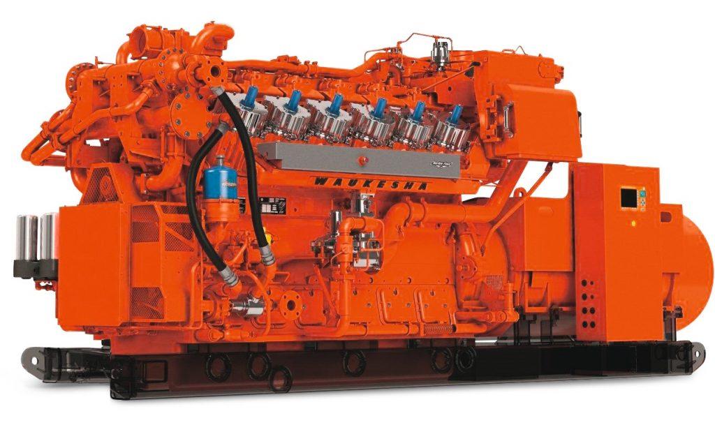 Промышленные двигатели Waukesha