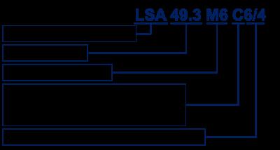 Пример расшифровки обозначения генератора LSA