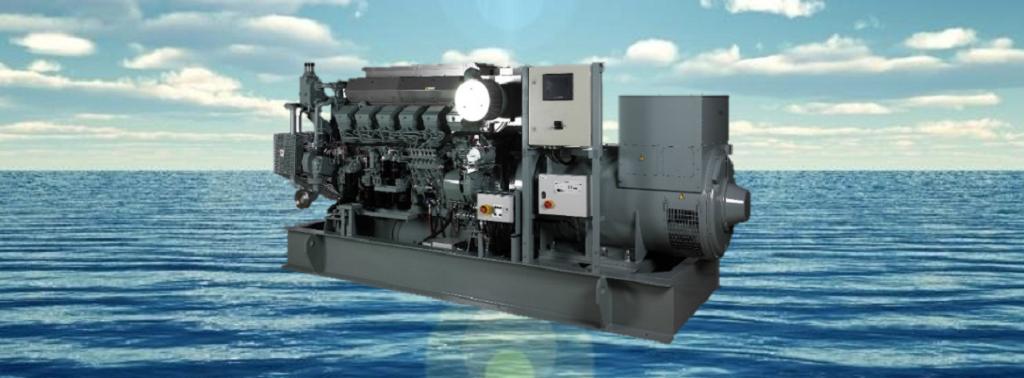 Судовые генераторные установки MHI