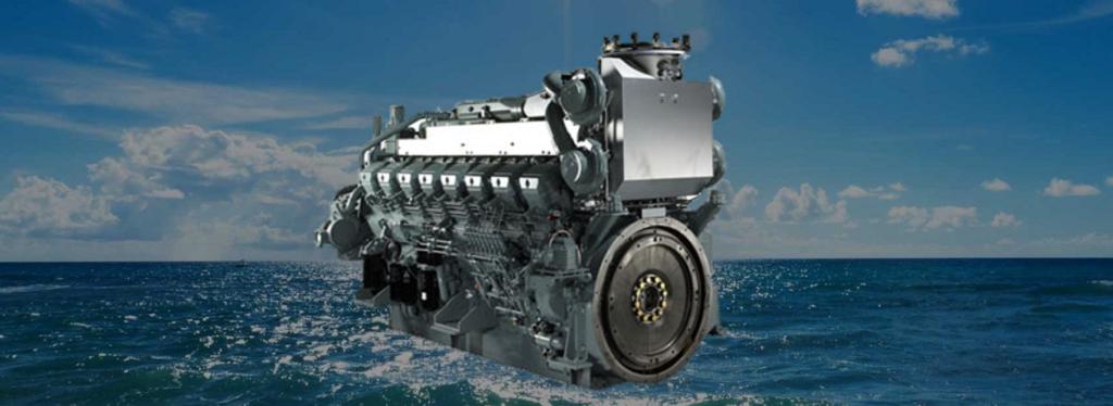 Судовые двигатели MHI