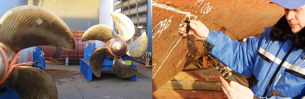 ремонт металлических корпусов судов