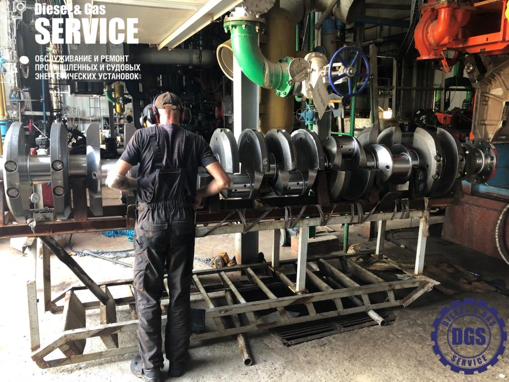 Подготовка коленвала к установке в двигатель