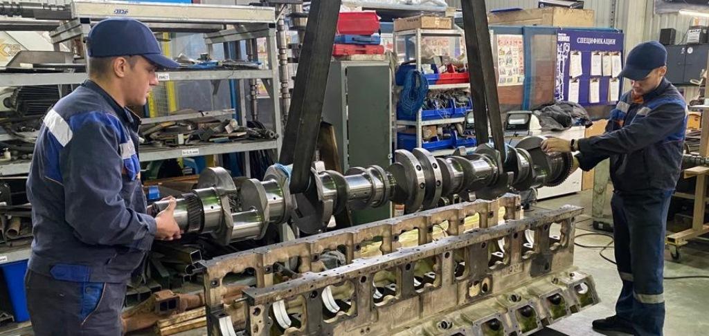 Ремонт дизельных и газовых двигателей